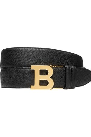 Bally Men's B Buckle Reversible Leather Belt