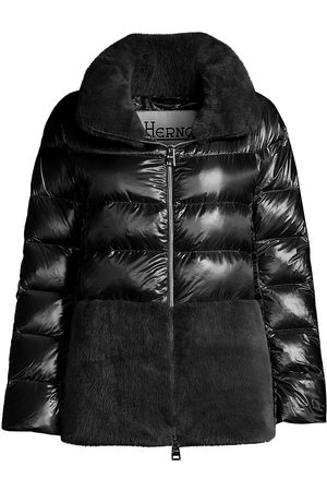 HERNO Women's Trim Lightweight Down Jacket - - Size 48 (12)