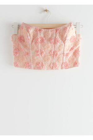 & OTHER STORIES Sleeveless Lace Bustier