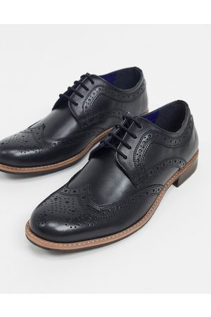Silver Street Lace-up brogues in leather