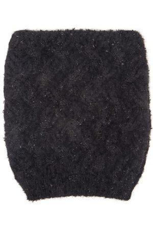 Dolce & Gabbana Zigzag-knit Beanie Hat - Womens