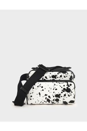 CHARLES & KEITH Bags - Printed Double Zip Bag