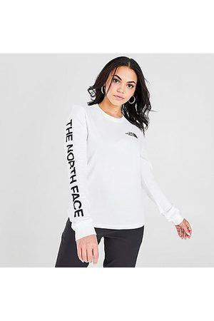 The North Face Women's Long-Sleeve T-Shirt in Size X-Small Cotton