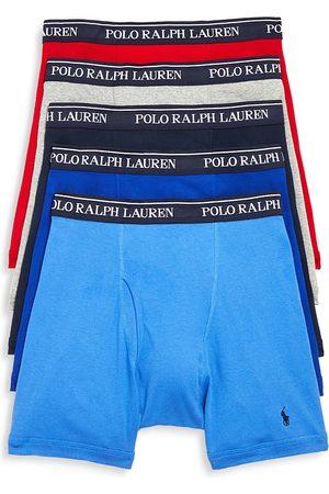 Polo Ralph Lauren Knit Boxer Briefs, Pack of 5