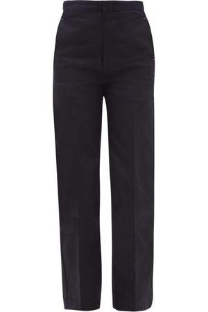 Jil Sander Women High Waisted - High-rise Tailored Jeans - Womens - Dark