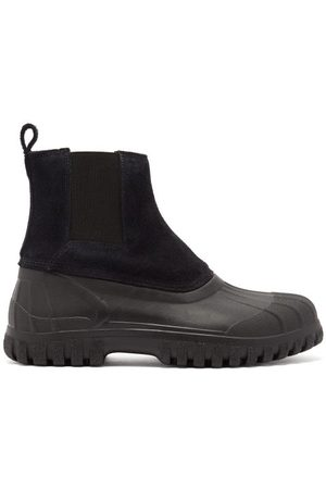 Diemme Men Chelsea Boots - Balbi Suede And Rubber Chelsea Boots - Mens