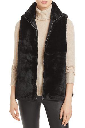 Echo Faux Fur Zip Front Vest