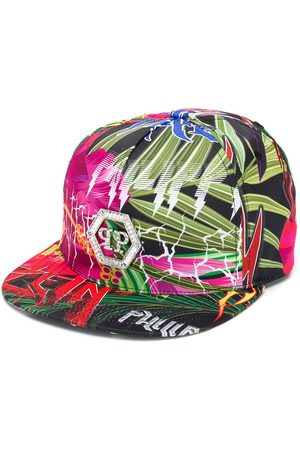 Philipp Plein Jungle Rock snapback cap