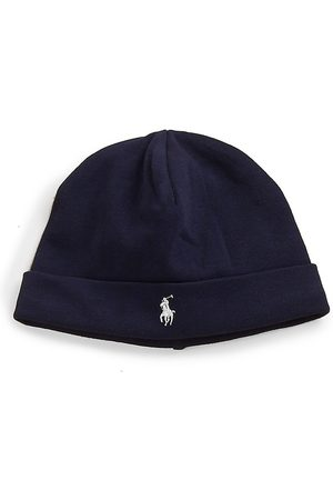 Ralph Lauren Baby's Cotton Interlock Hat - French Navy