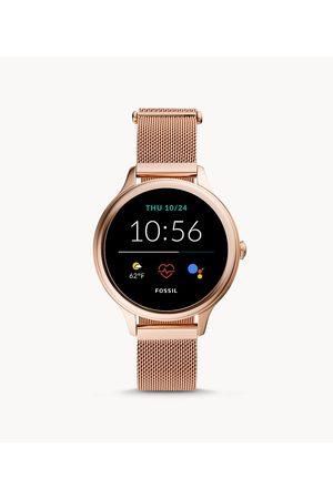 Womens Women Smart Watches - Fossil Women's Gen 5E Smartwatch -Tone Stainless Steel Mesh