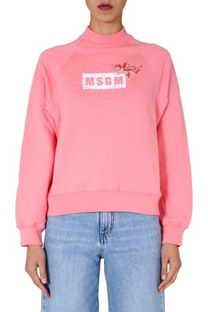 Msgm High neck sweatshirt