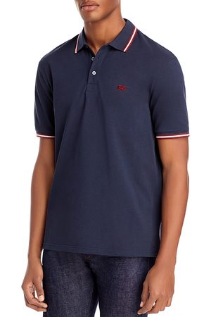 Bally Slim-Fit Color-Tipped Polo Shirt