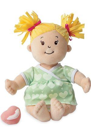 Manhattan Toy Baby Stella Blonde Hair Soft Nurturing First Baby Doll - Ages 12 Months+
