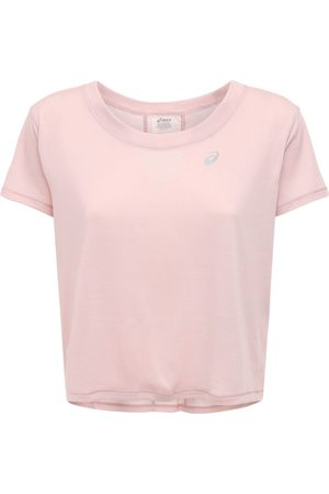 Asics Women Tops - Race Crop Top