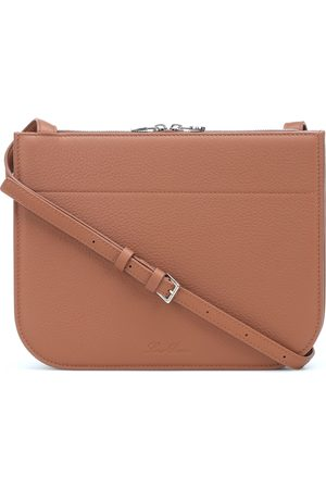 Loro Piana Milky Way leather crossbody bag