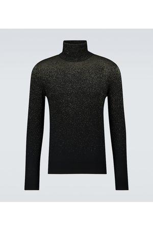 Alexander McQueen Wool-blend turtleneck sweater