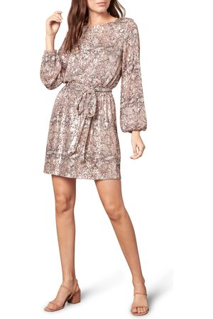cupcakes and cashmere Women's Ginger Sequin Long Sleeve Minidress