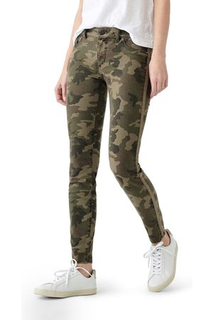 Dl Women's 1961 Florence Camo Mid Rise Skinny Jeans