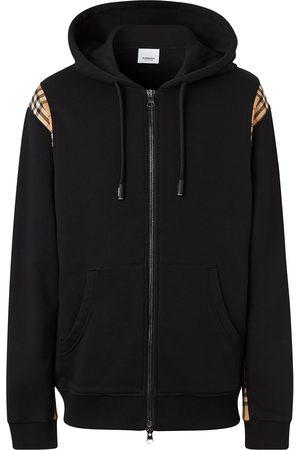 Burberry Vintage Check panel hoodie