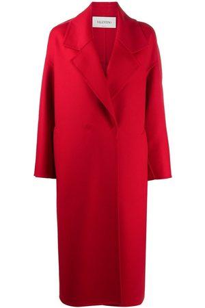 VALENTINO Wraparound mid-length coat