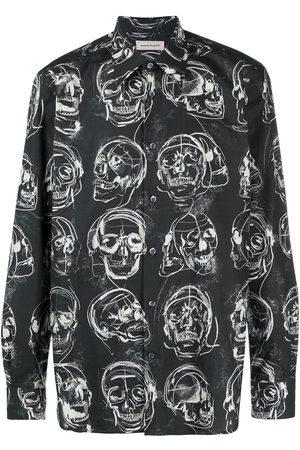 Alexander McQueen Skull-print shirt