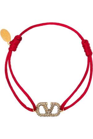 VALENTINO GARAVANI Women Bracelets - Adjustable VLOGO encrusted bracelet