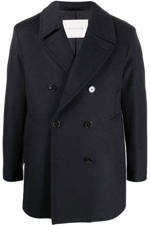 MACKINTOSH Dalton notched-lapels peacoat