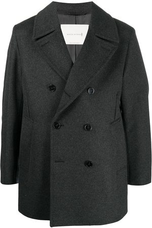 MACKINTOSH Dalton notched-lapels peacoat - Grey