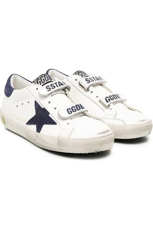 Golden Goose Superstar distressed detail sneakers
