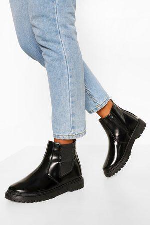 Boohoo Womens Chunky Chelsea Boots - - 5