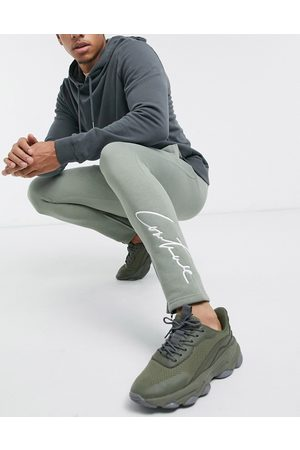 The Couture Club Essentials slim fit sweatpants in khaki