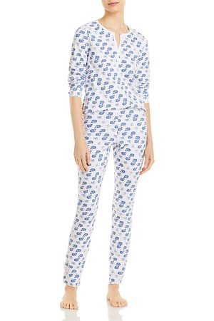 Roller Rabbit Moby Printed Pajama Set