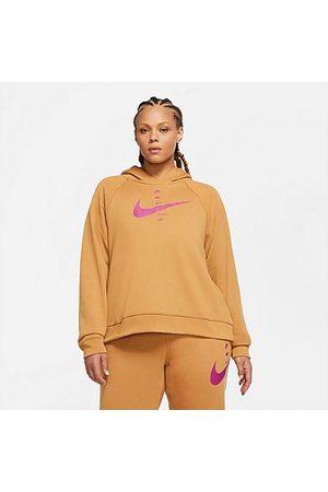 Nike Women's Sportswear SWOOSH Hoodie in /Flax
