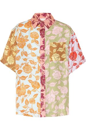 ZIMMERMANN Lovestruck floral silk shirt