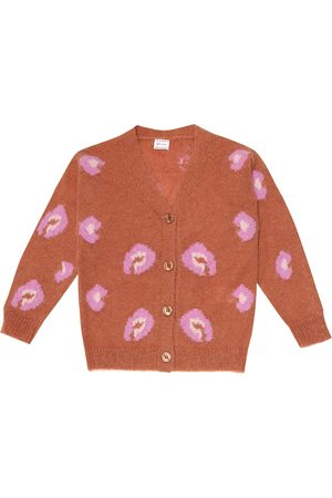 MORLEY Mia leopard intarsia cardigan