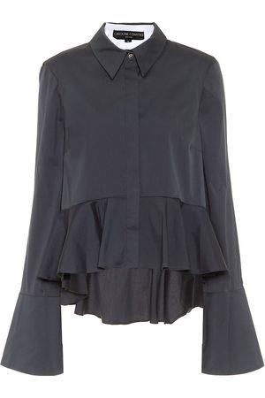 Caroline Constas Leslie cotton-blend poplin shirt