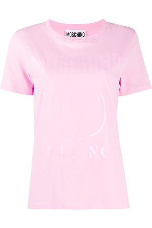Moschino Women T-shirts - Logo printed t-shirt