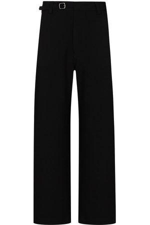 VALENTINO VLTN-logo straight-leg trousers