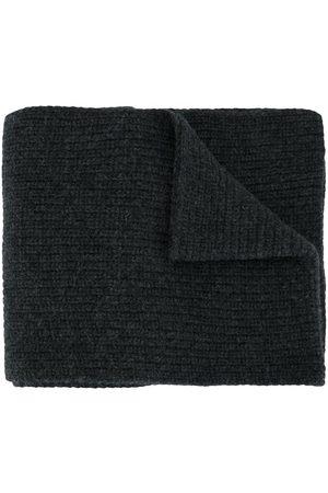 Stone Island Knitted wool scarf - Grey