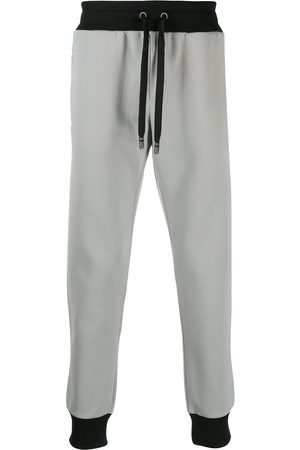 Dolce & Gabbana Tapered cuff jogging trousers - Grey