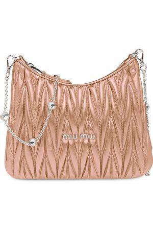 Miu Miu Women Shoulder Bags - Matelassé shoulder bag