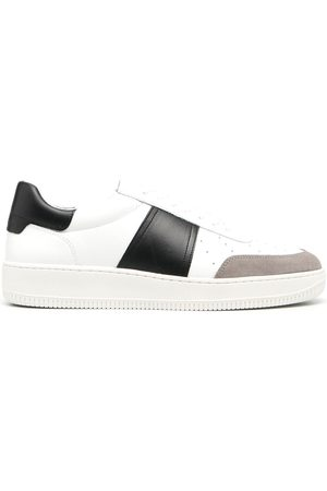 Sandro Panelled low-top sneakers