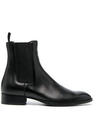 Sandro Almond-toe Chelsea boots