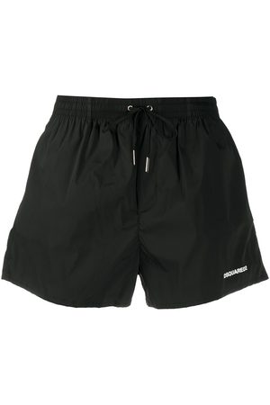 Dsquared2 Rear logo print swim shorts