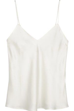 Simone Pérèle Women Camisoles - Dream black silk camisole top