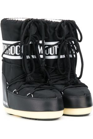 Moon Boot Lace up logo snow boots
