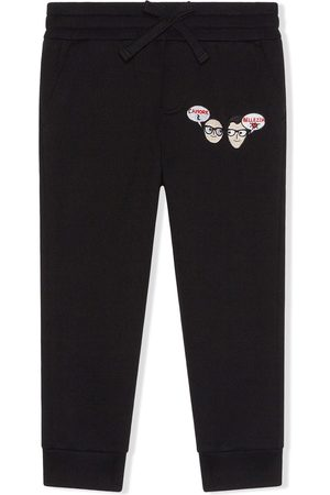 Dolce & Gabbana Dg family amore jogging pants