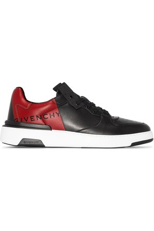 Givenchy Wing two-tone leather sneakers