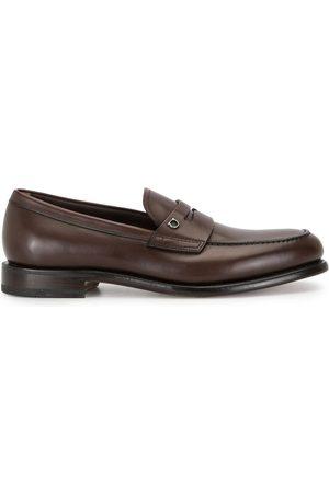 Salvatore Ferragamo Theodore Gancini plaque loafers