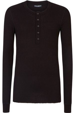 Dolce & Gabbana Long-sleeved round neck top